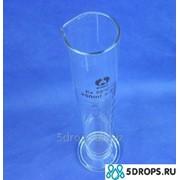 Мерный цилиндр со стеклянным основанием объёмом 250 мл фото