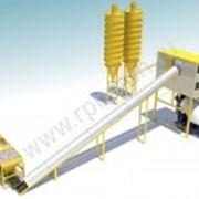 Бетонный завод ленточный HZS 120 фото
