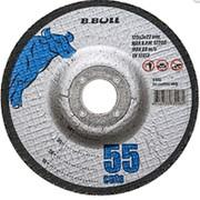 Круг отрезной B,Bull 55 cuts 125х2х22 (чашечный) фото
