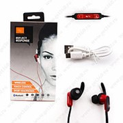 Беспроводные наушники Sport Wireless Red (Красный) фото