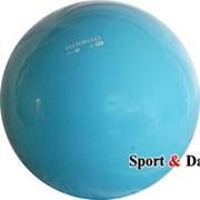 Мяч голубой,16см, вес 320 гр. фото