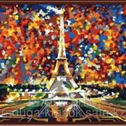 Картина по номерам Л.Афремов Париж - Эйфелева башня фото