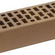 Кирпич облицовочный одинарный коричневый ЛСР фото