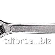 Ключ гаечный разводной 200 мм FIT 70120, арт. 4379 фото