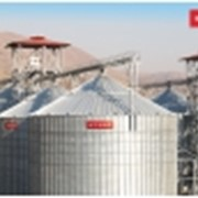 Зернохранилище с плоским дном 1633 фото