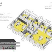 Звуковая система - Фитнес центр, встроенные динамики Apart фото