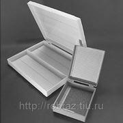 Штатив-бокс для предметных стекол на 50 шт фото