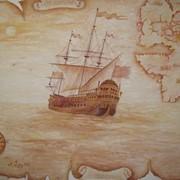Художественная роспись стен. Иконопись. Живопись на заказ (пейзаж, цветы, натюрморт, портрет) фото