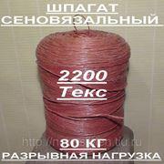 Шпагат сеновязальный 2200 Текс. Большие Скидки!