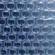 Воздушно пузырчатая пленка - двухслойная специальная ширина рулона 1,5 м. длина намотки 100 м. фото