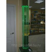 Пузырьковая колонна шестигранная фото