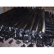 Пленка полиэтиленовая черная 120 мкм фото