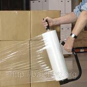 Стрейч пленка для ручной упаковки 450мм*17мкм*300м фото