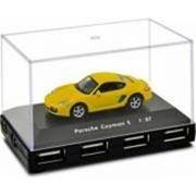 USB-концентратор Autodrive Porsche Cayman S Yellow, желтый фото