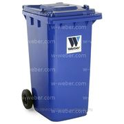 Контейнер для отходов и мусора (HDPE) MGB 240л. «Weber» (Германия) 100% первичное сырьё! фото