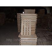 Лоток хлебный деревянный фото