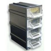 Пластиковый контейнер 4 секции фото