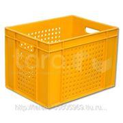 Ящик пластиковый дрожжевой фото