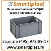 Ящик многооборотный KOD KSK6034 размер 600х400х340 мм Smartiplast