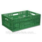 Ящик пластиковый складной 600 x 400 x 217
