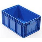 Контейнер пластиковый 600х400х200 фото
