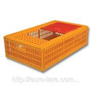 Ящик пластиковый для перевозки живой птицы 970x580x270