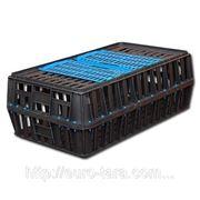 Ящик пластиковый для перевозки живой птицы 850x500x300 фото
