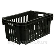 Ящик пластиковый для фруктов 500*300*264 фото