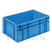 ЕВРОТЕК пластиковый ящик штабелируемый фото
