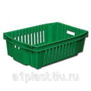 Ящик пластиковый для овощей фото