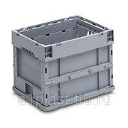 Складной пластиковый ящик с блокировкой фотография
