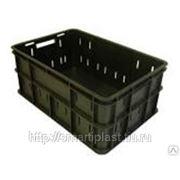 Ящик 600х400х260 мм, дно сплошное, стенки малоперфорированные, ЯМ-260