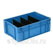 Пластиковый ящик ЕВРОТЕК с направляющими фото