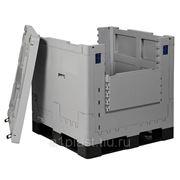 Складной крупногабаритный контейнер для перевозки жидких продуктов фото
