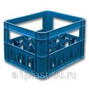 Ящик пластиковый под бутылку 0,5 л морозостойкий фото