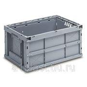 Складной пластиковый ящик с угловой блокировкой