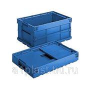 Складной пластиковый ящик KLT по VDA фото