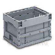 Складной пластиковый ящик с блокировкой