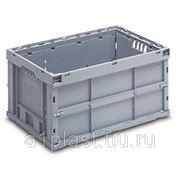 Складной пластиковый ящик с блокировкой фото