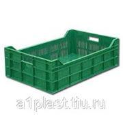 Пластиковый ящик для овощей и фруктов фото