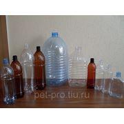 ПЭТ-бутылка 0,5л-10л фото