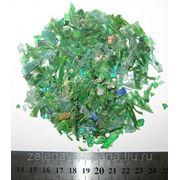 ПЭТ хлопья зеленые фото