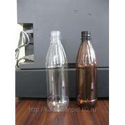 Бутылка ПЭТФ 0.5л с крышкой фото