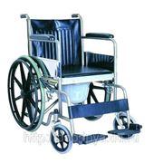 Кресло-коляска с санитарным устройством и с ручным приводом от обода СА609ВЕ фото