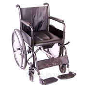 Комнатная инвалидная коляска с санитарным оснащением «Economy 2» OSD фото