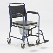 Кресло-каталка инвалидная складная c туалетом H009B фото