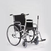 Инвалидная коляска с рычажным приводом Н004 фото