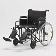 Инвалидная коляска для полных Armed H 002 (22 дюйма) фото