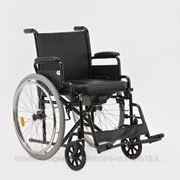 Кресло-коляска с санитарным оснащением для инвалидов Н 011А фото