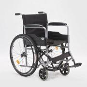 Коляска для инвалидов H 007 (17, 18, 19 дюймов) фото